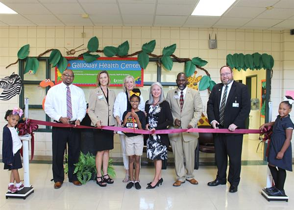 JPS and UMMC Open Health Clinic at Galloway Elementary School